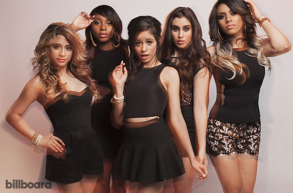 Fifth Harmony photographed in New York on July 9, 2014.