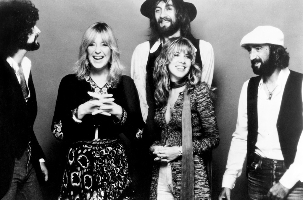 Fleetwood Mac photographed circa 1977