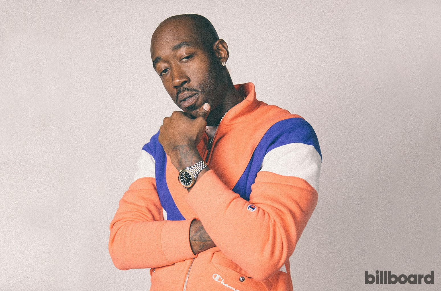 Freddie Gibbs photographed on March 13, 2019.