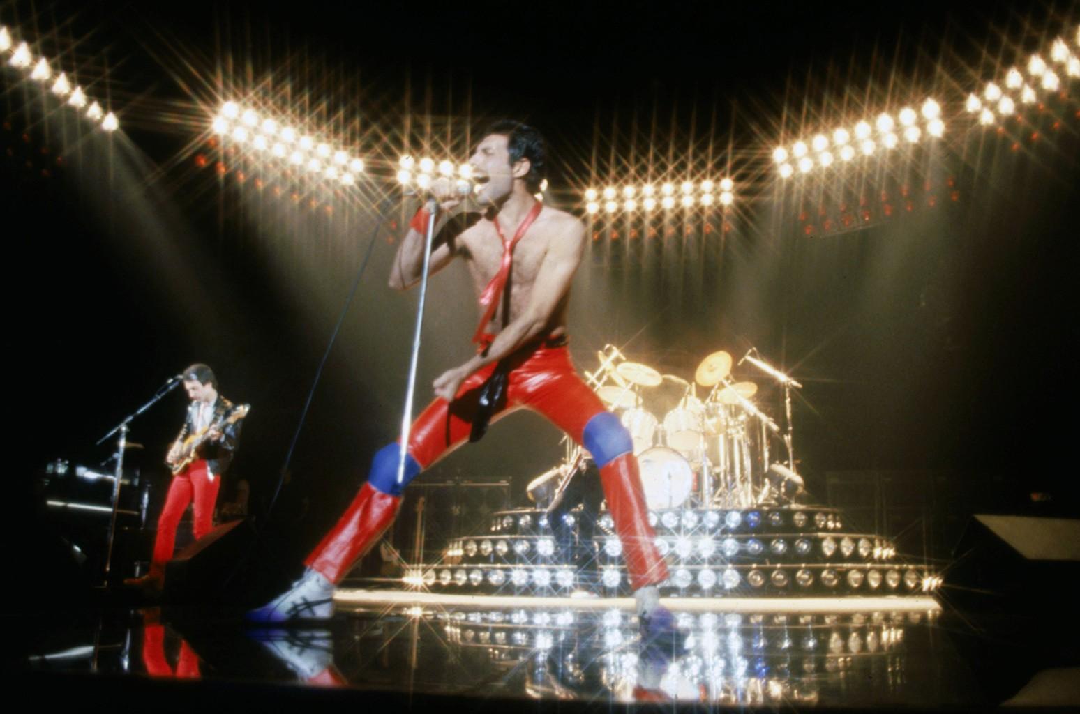 Queen photographed in 1980.