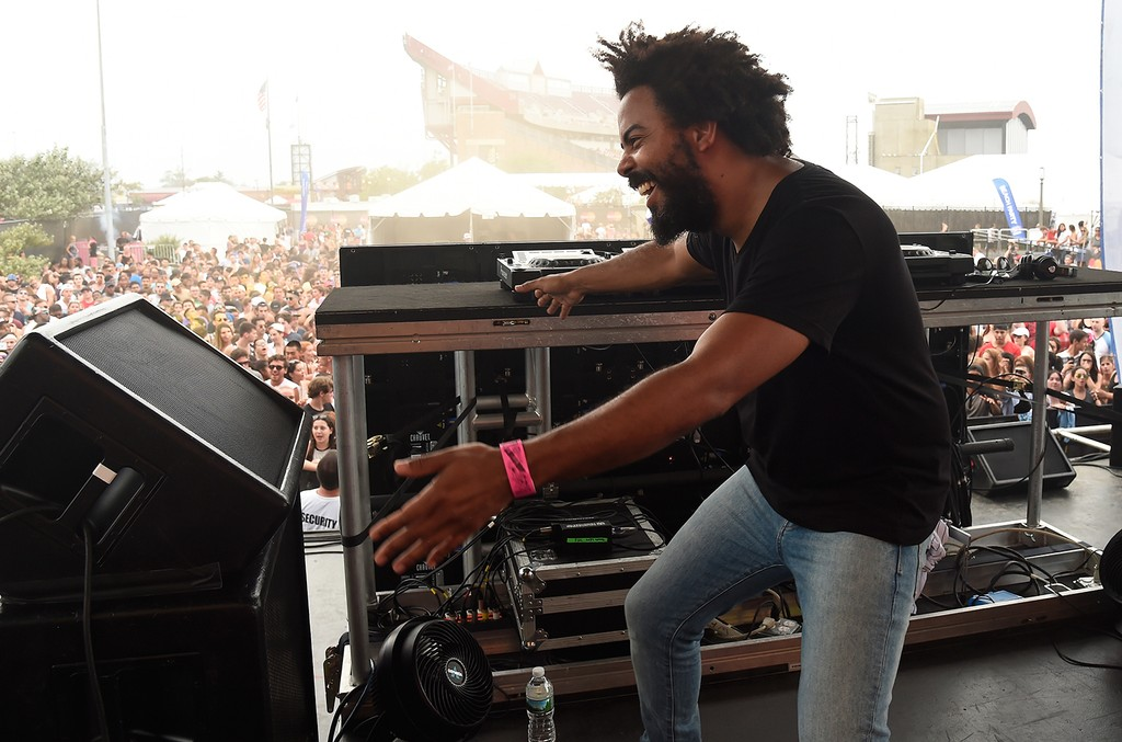 Jillionaire performs onstage during the 2016 Billboard Hot 100 Festival -