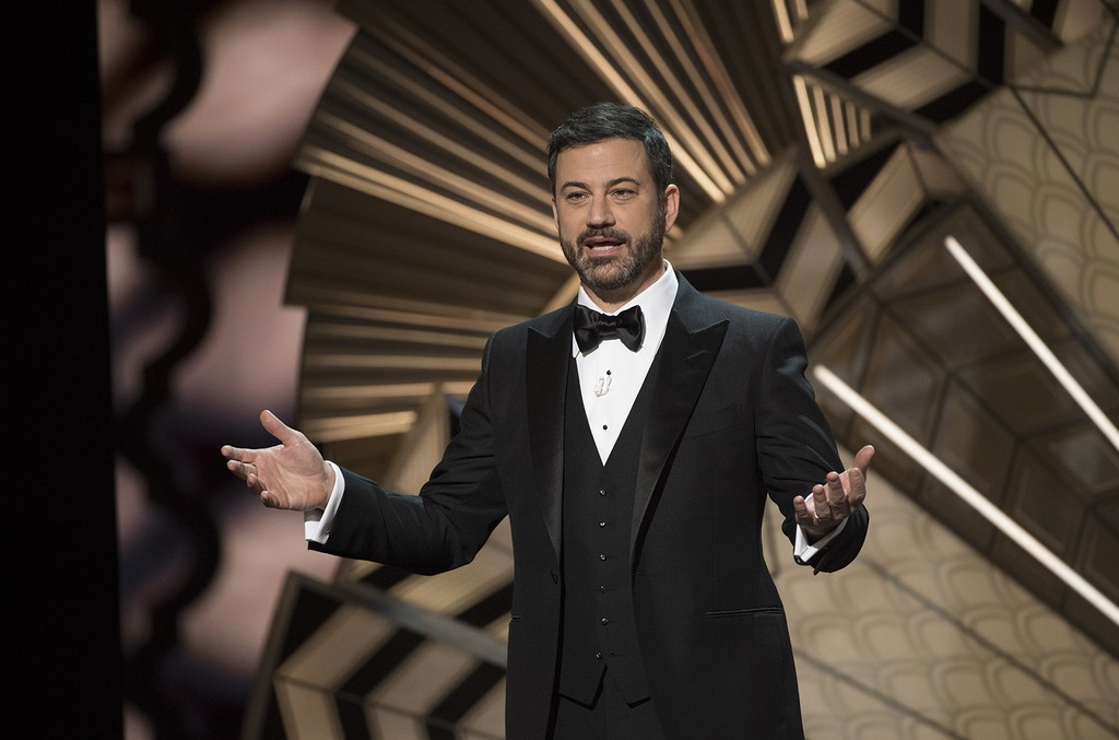 Jimm Kimmel during the 89th Oscars on Feb. 26, 2017.