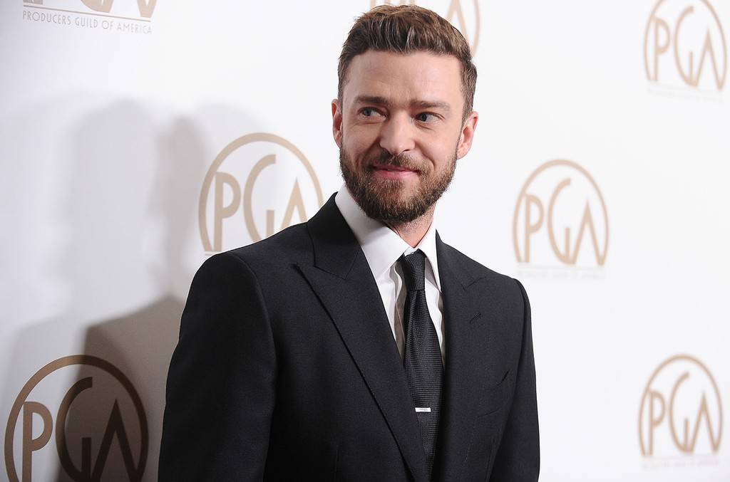 Justin Timberlake attends the 28th annual Producers Guild Awards at The Beverly Hilton Hotel on Jan. 28, 2017 in Beverly Hills, Calif.