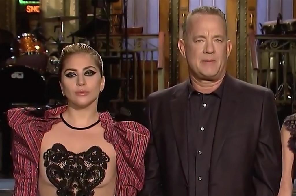 Lady Gaga & Tom Hanks