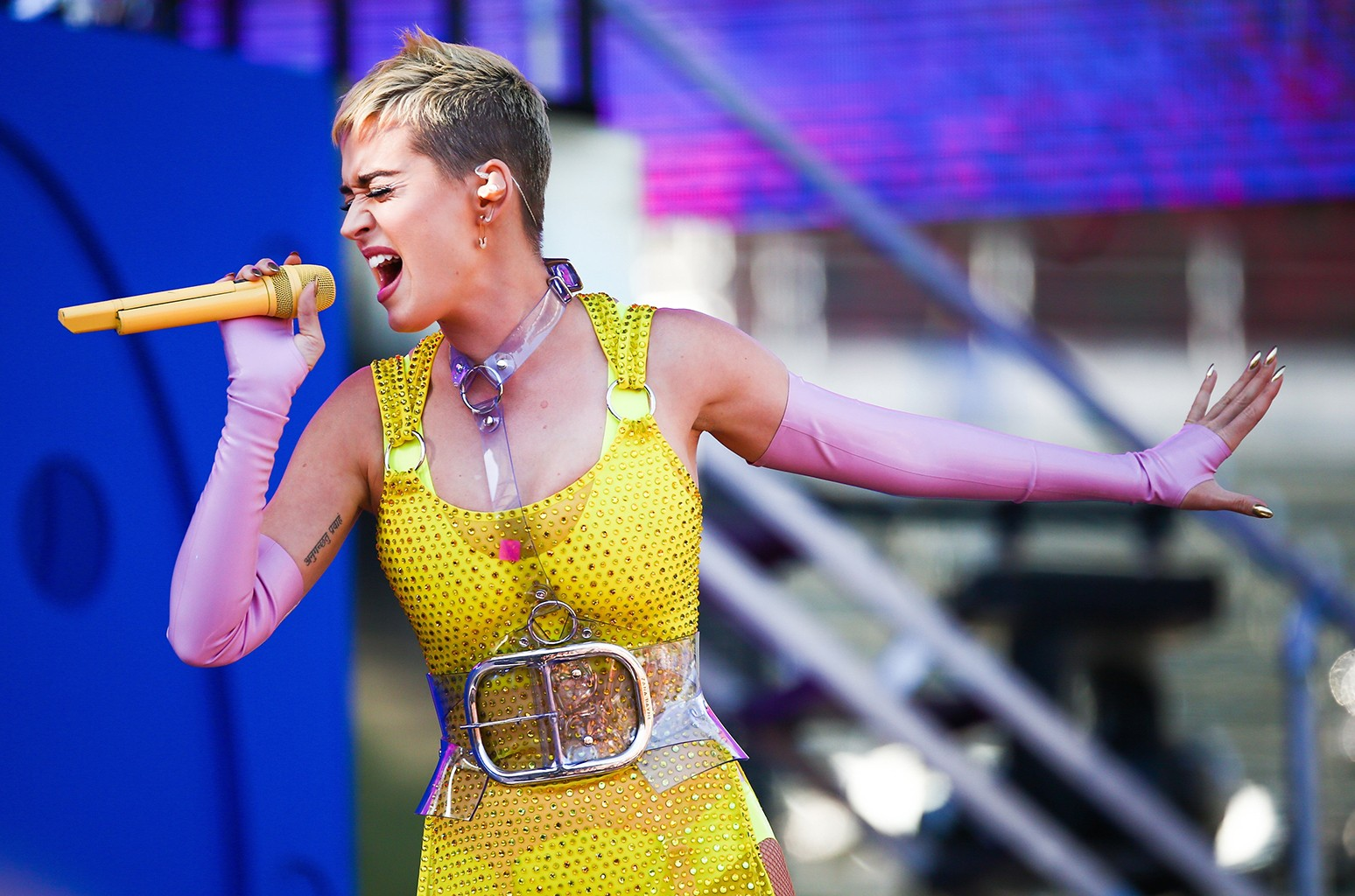 Katy Perry performs during 102.7 KIIS FM's 2017 Wango Tango at StubHub Center on May 13, 2017 in Carson, Calif.