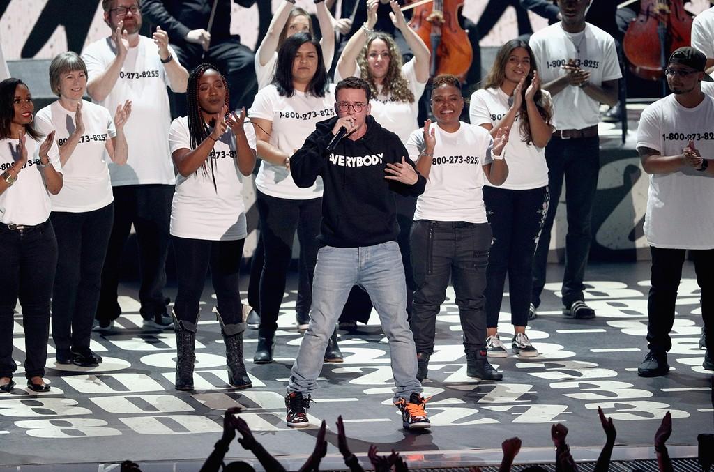 Logic Tweets National Suicide Prevention Lifeline Statistics Since His 1 800 Release Billboard