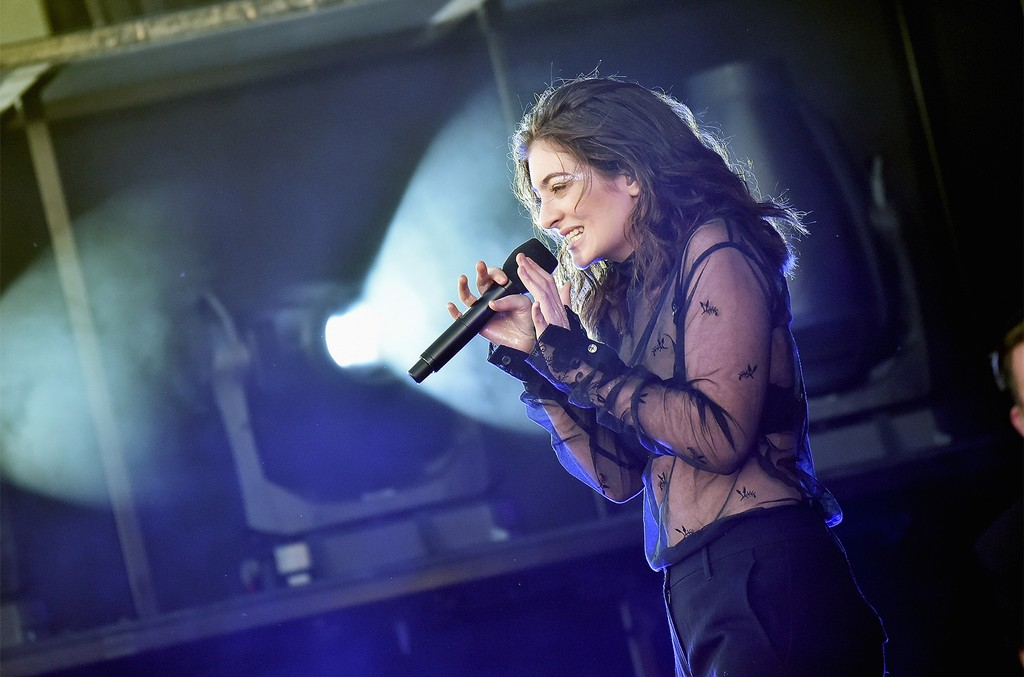 Lorde performs onstage during the 2017 Governors Ball Music Festival - Day 1 at Randall's Island on June 2, 2017 in New York City.