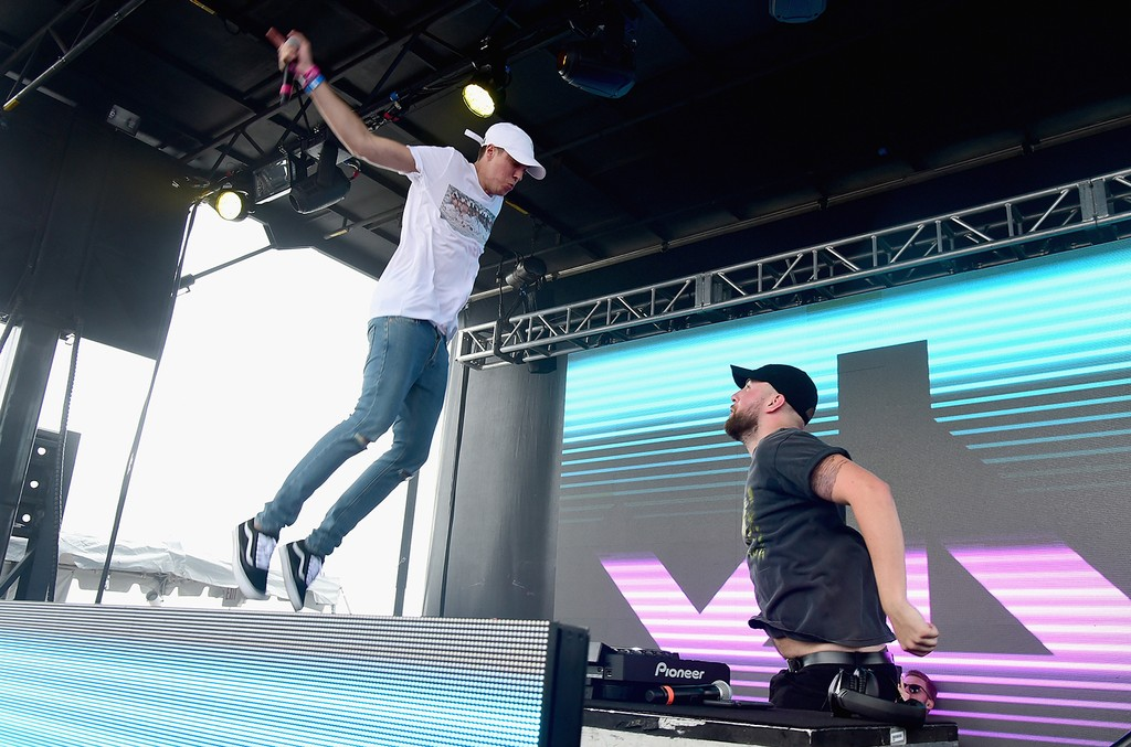 Lost Kings perform onstage during the 2016 Billboard Hot 100 Festival