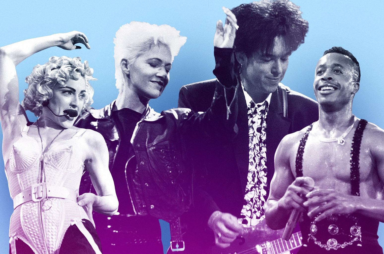 Madonna, Roxette & MC Hammer