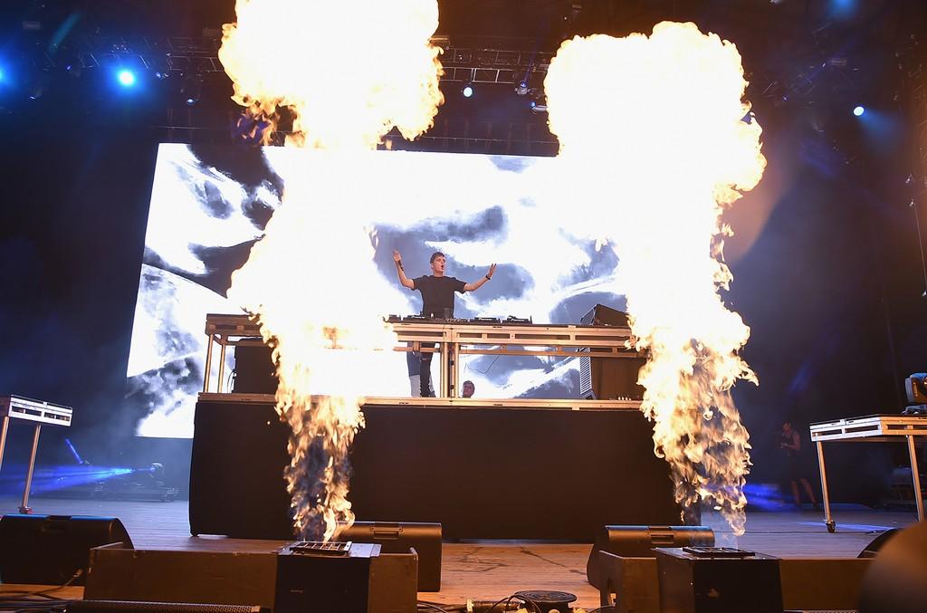 Martin Garrix performs at the 2016 Billboard Hot 100 Festival