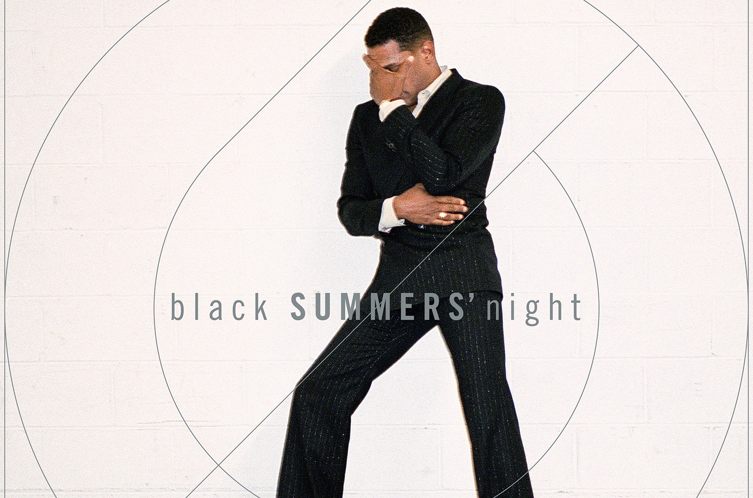 "Cover art for Maxwell's ""blackSUMMER'snight."""