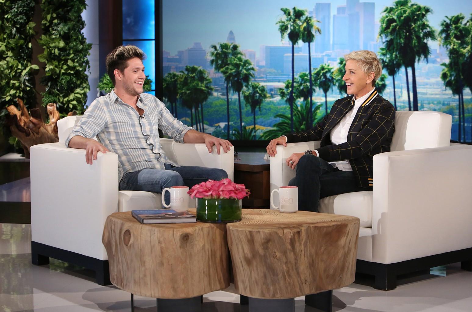 Niall Horan on The Ellen DeGeneres Show o