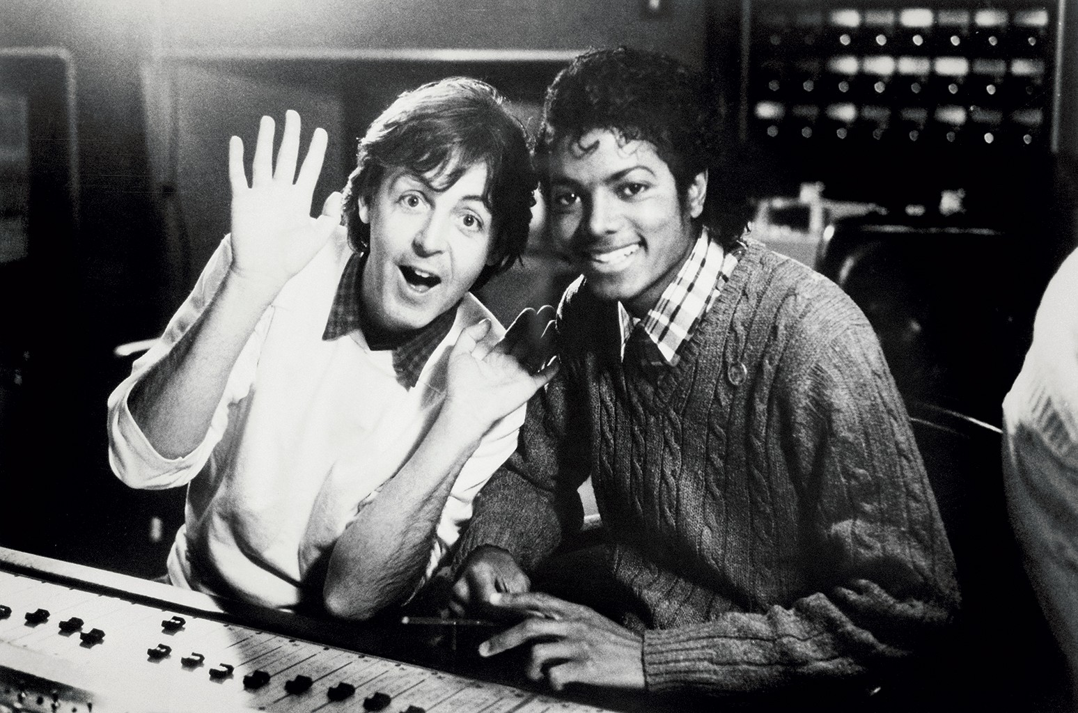 Paul McCartney & Michael Jackson