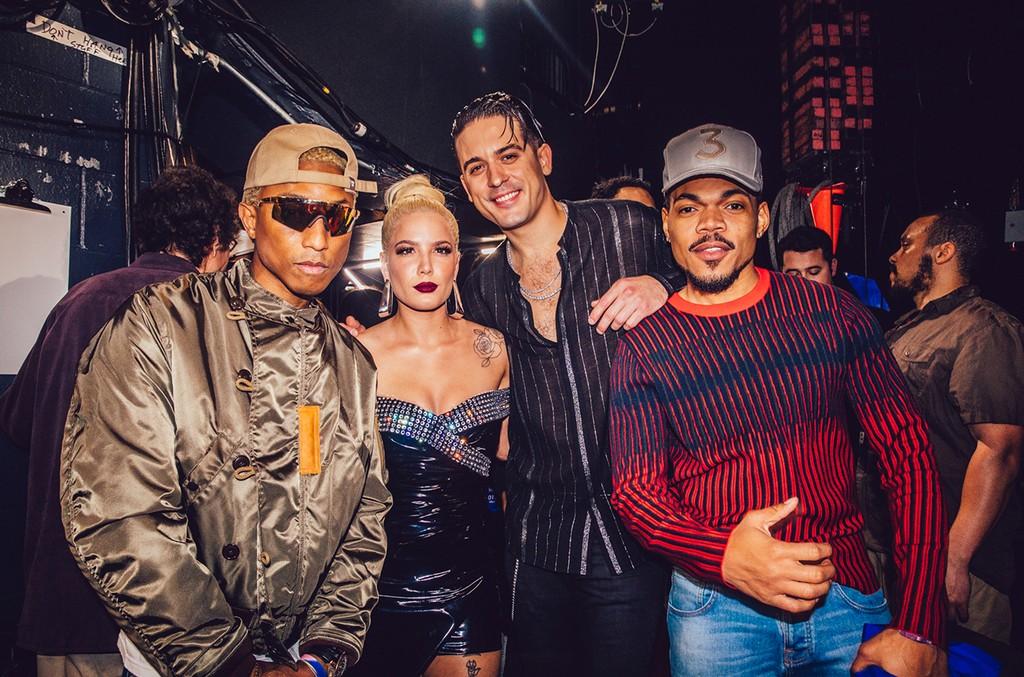 Pharrell Williams, Halsey, G-Eazy and Chance The Rapper