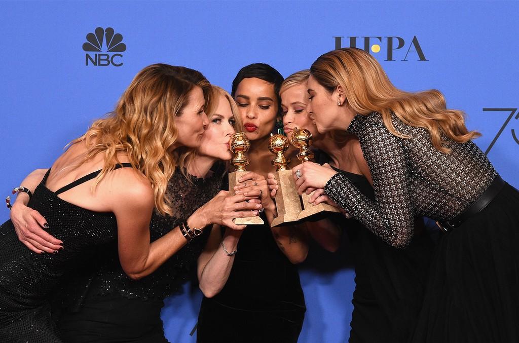 Laura Dern, Nicole Kidman, Zoë Kravitz, Reese Witherspoon and Shailene Woodley