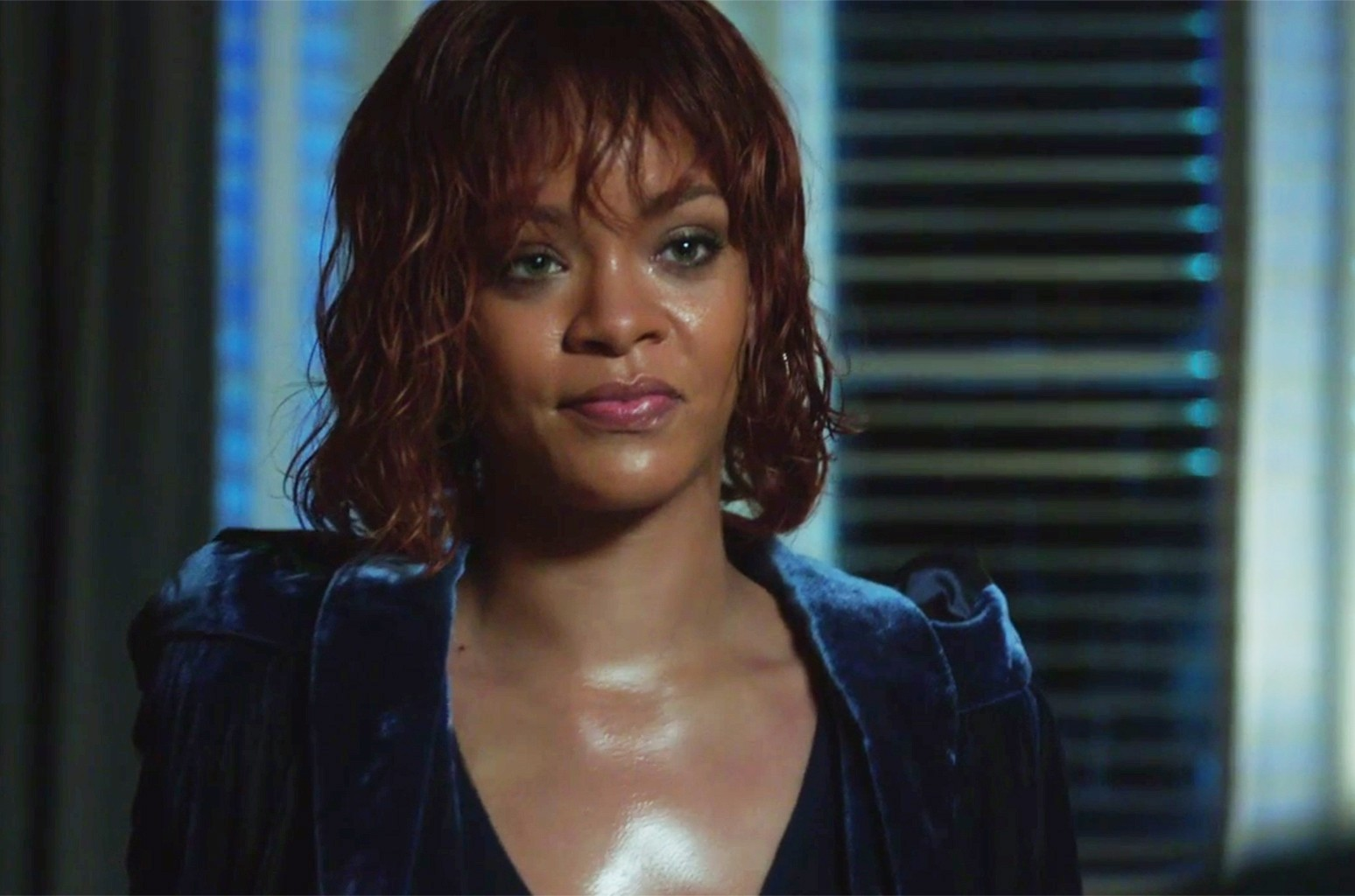 Rihanna in the trailer for the new season of Bates Motel