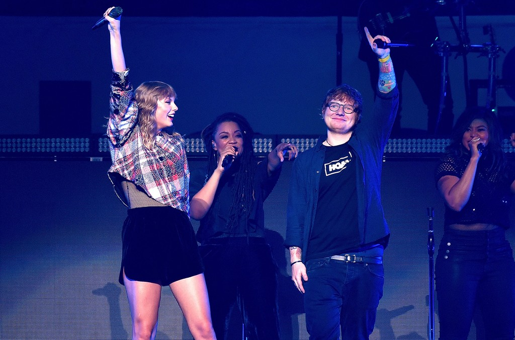Ed Sheeran & Taylor Swift, 2017