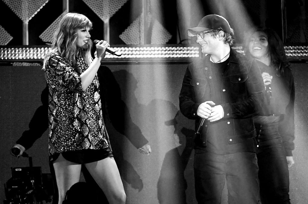 Taylor Swift & Ed Sheeran, 2017