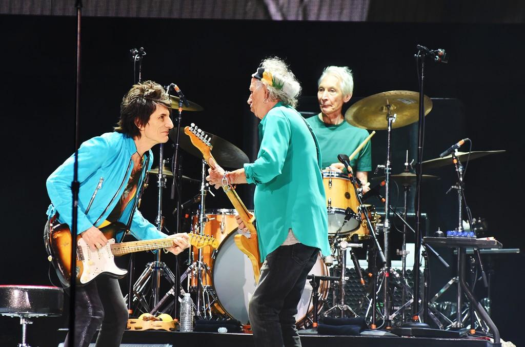 Ronnie Wood, Keith Richards & Charlie Watts