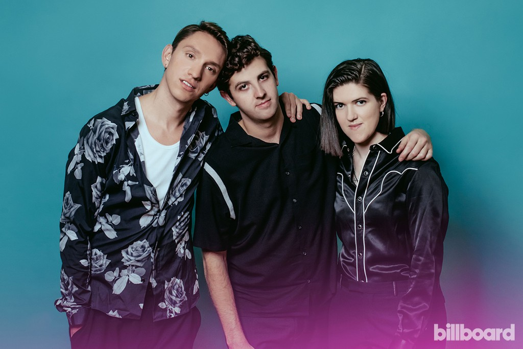 Oliver Sim, Jamie Smith & Romy Madley Croft of The xx photographed Dec. 16, 2016, in Melbourne, Australia.