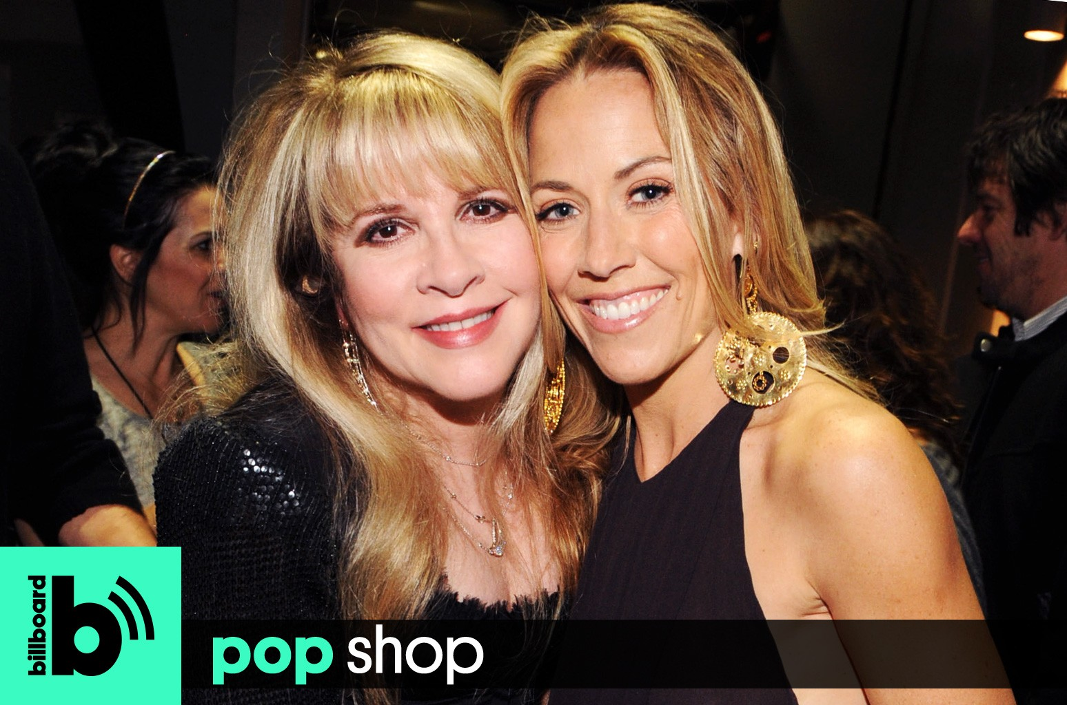 Pop Shop Podcast featuring: Stevie Nicks and Sheryl Crow