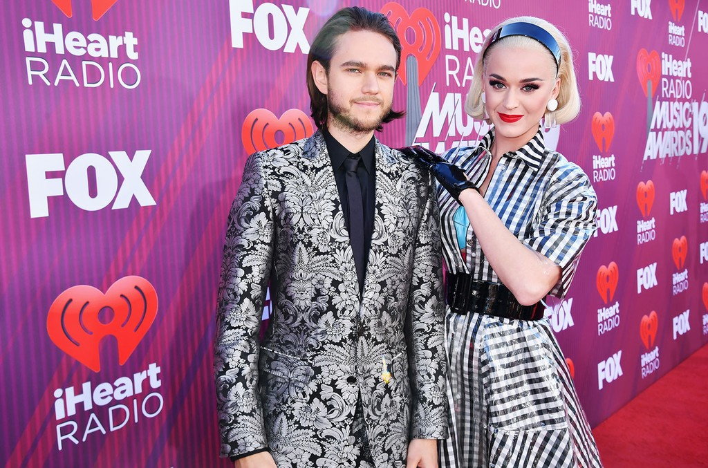 Zedd and Katy Perry