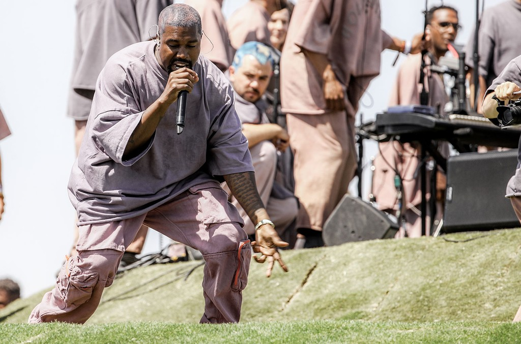 Kanye West Is Planning To Go Virtual For Sunday Service On Easter