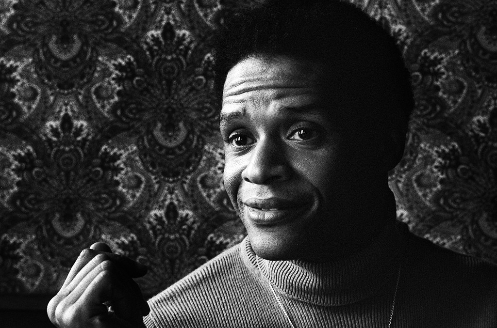 Al Jarreau photographed in Amsterdam in 1976.