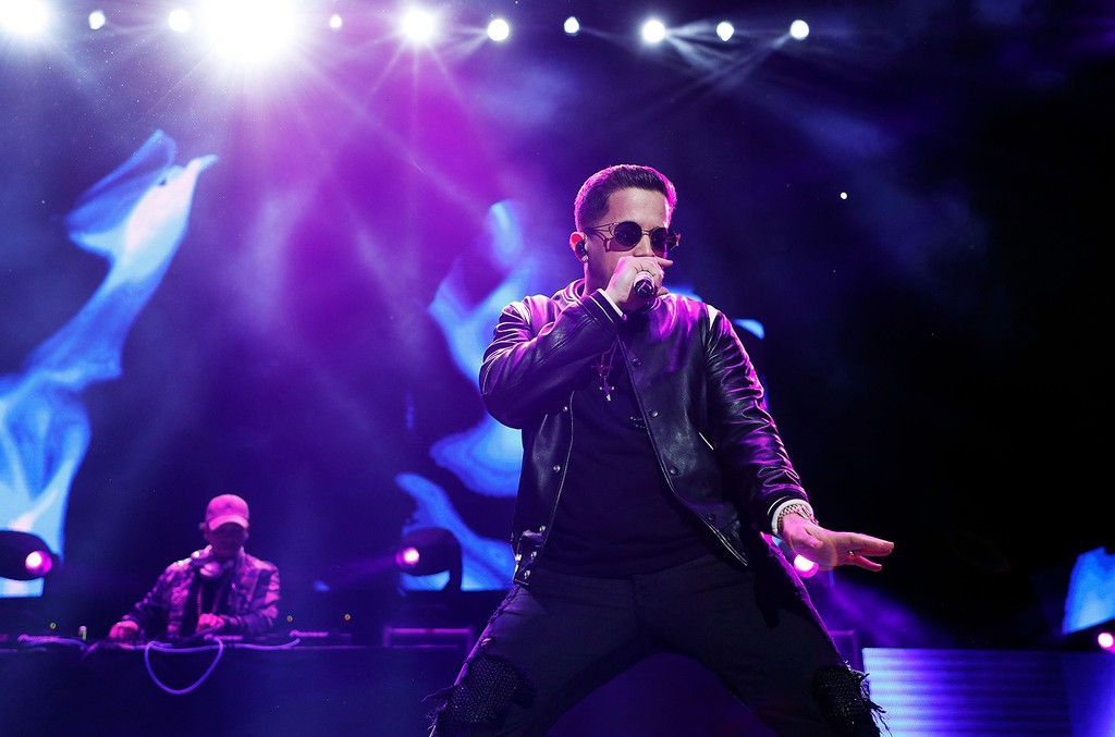 De La Ghetto performs during Mega 96.3's Calibash 2017 at Staples Center on Jan. 21, 2017 in Los Angeles.