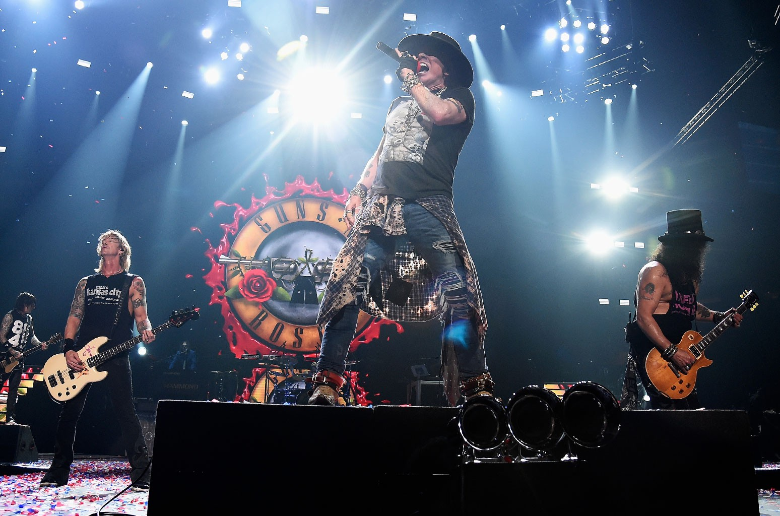 Axl Rose of Guns N' Roses