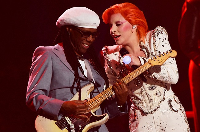 Lady Gaga and Nile Rodgers
