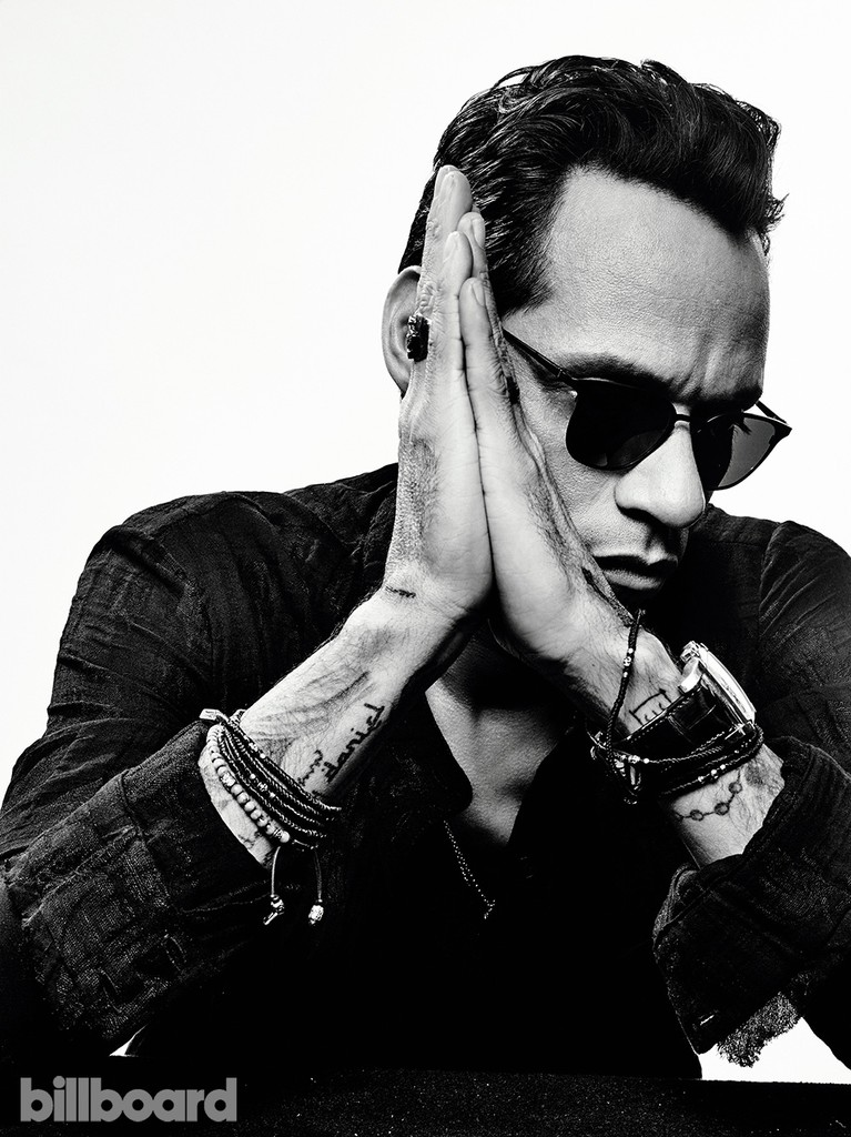 Marc Anthony photographed on April 5, 2016 in Miami, Fla.