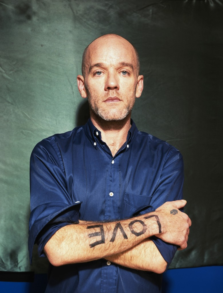 Michael Stipe of R.E.M. photographed in 2000.
