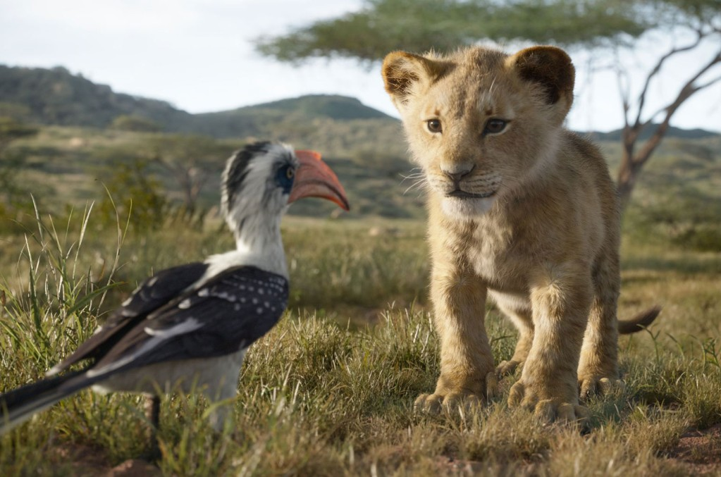 Young Nala in The Lion King