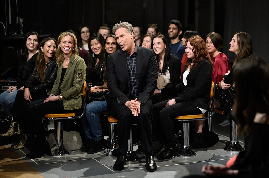 Will Ferrell during the opening monologue in Studio 8H on Saturday Night Live on Jan. 27, 2018.