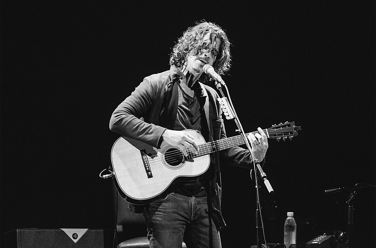 Chris Cornell performs in concert at ACL Live on Nov. 2, 2015 in Austin, Texas.