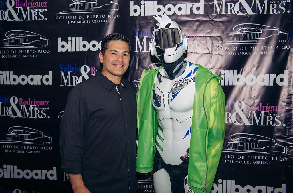 Eduardo Canjina (Manager Coliseo De Puerto Rico), DJ King Arthur
