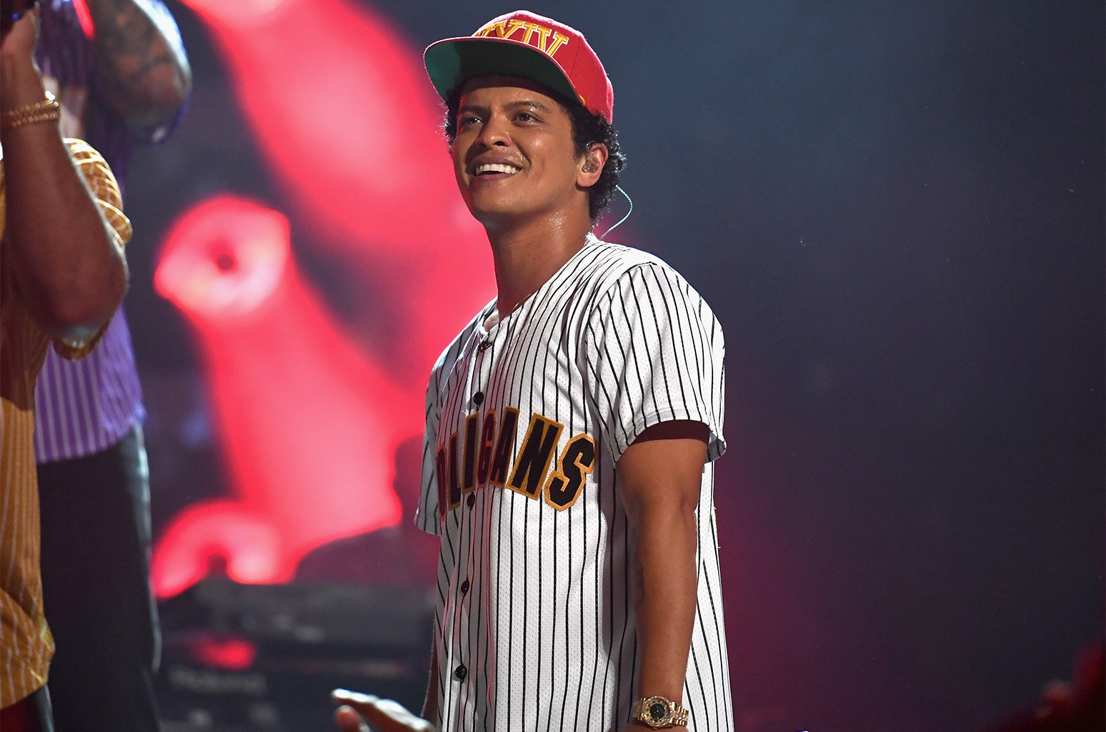 Bruno Mars performs onstage at 2017 BET Awards at Microsoft Theater on June 25, 2017 in Los Angeles.