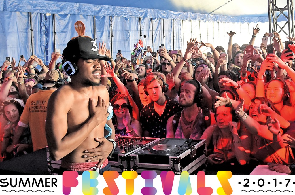 Chance The Rapper performs onstage at Silent Disco during Day 4 of the 2016 Bonnaroo Arts And Music Festival on June 9, 2016 in Manchester, Tenn.