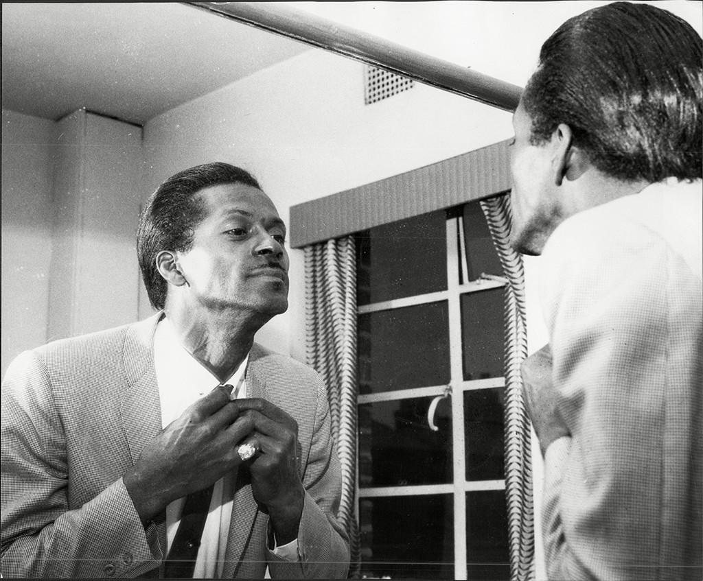 Chuck Berry photographed circa 1964.