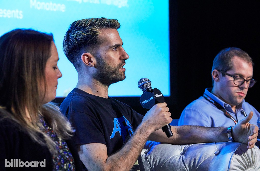 A-Trak at the 'Emerging Markets For Fun & Profit' panel at the Billboard Touring Conference & Awards on Nov. 10, 2016 in Beverly Hills, Calif.