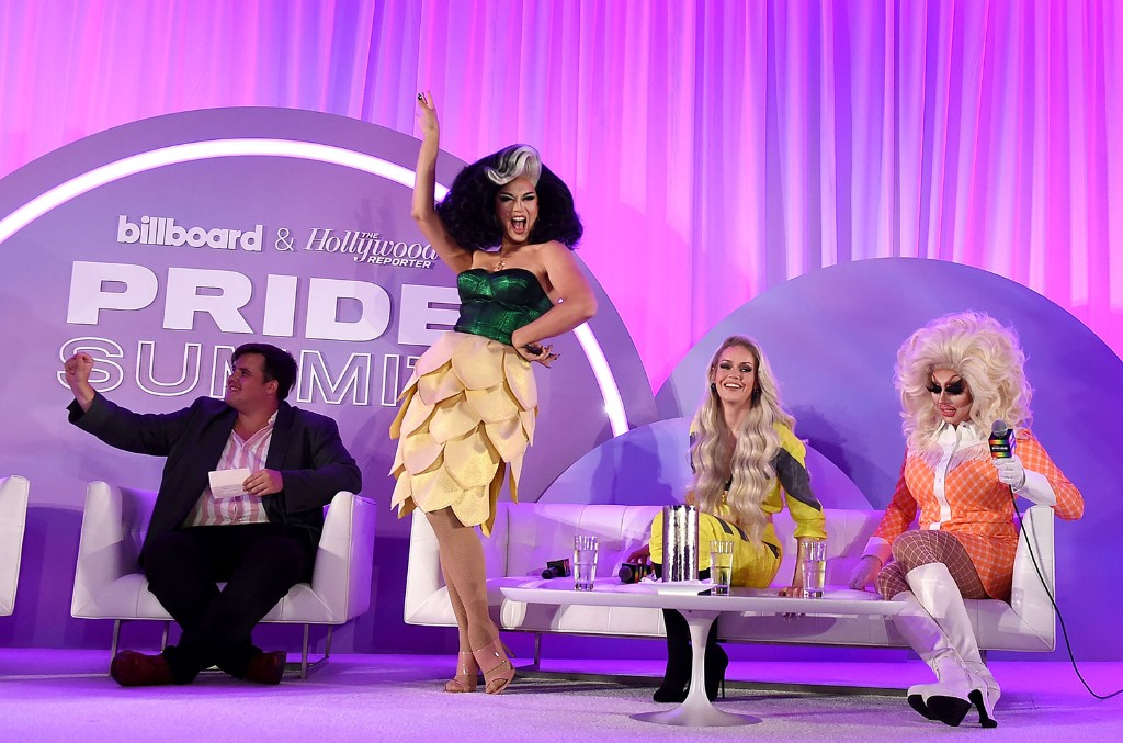 """""""Drag & Music: From """"Drag Race"""" To The Top Of The Charts"""" panel"""