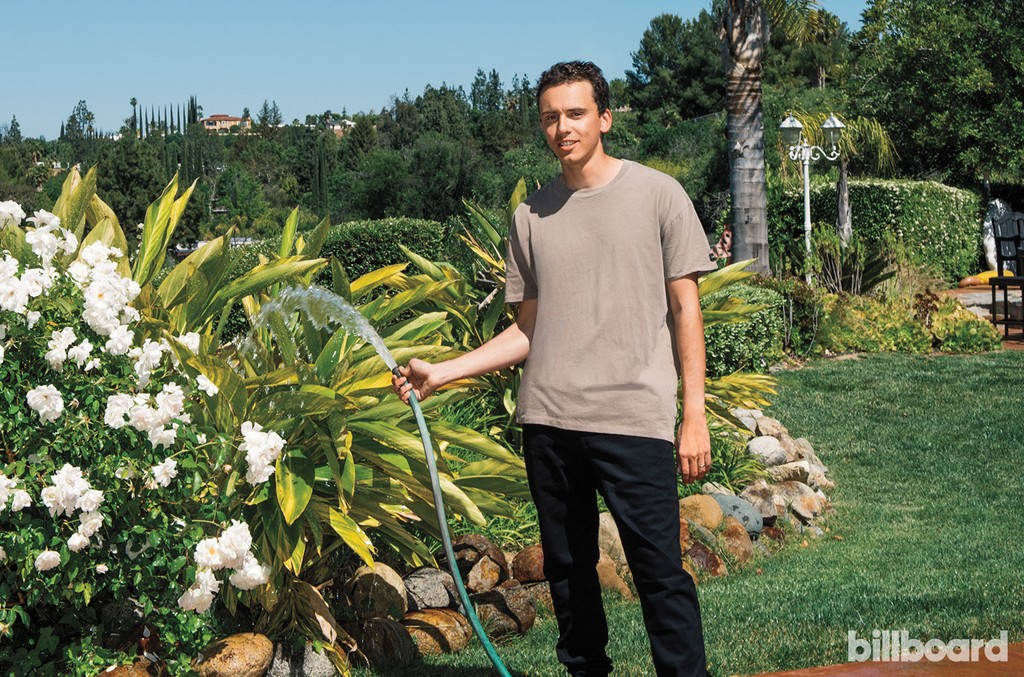 Logic photographed on April21, 2017 in Los Angeles.