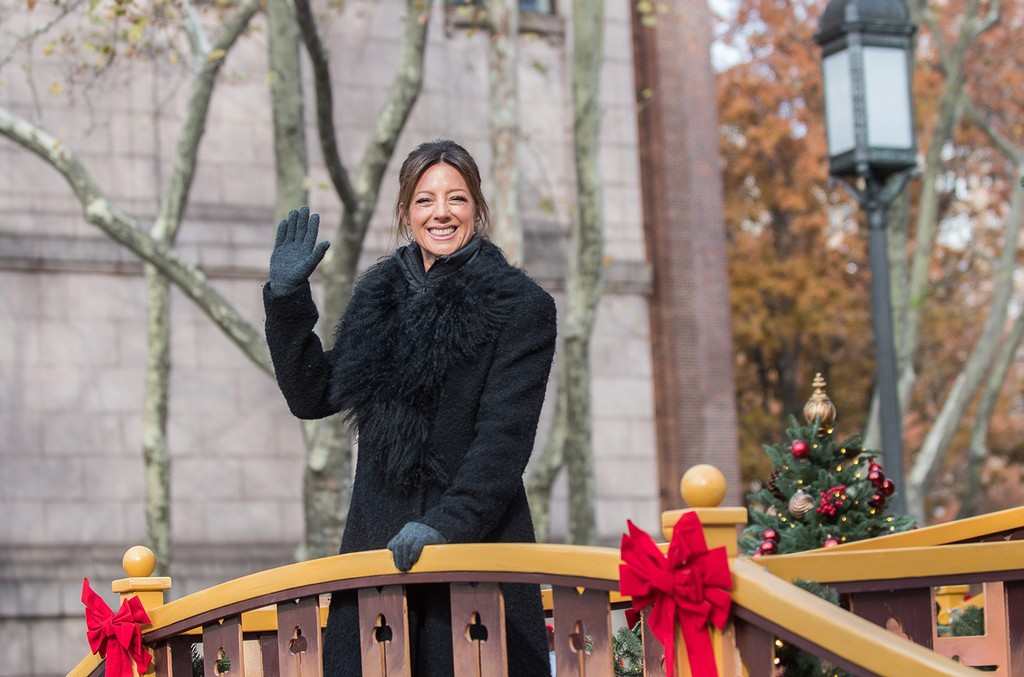 Sarah McLachlan attends the 90th Annual Macy's Thanksgiving Day Parade on Nov. 24, 2016 in New York City.