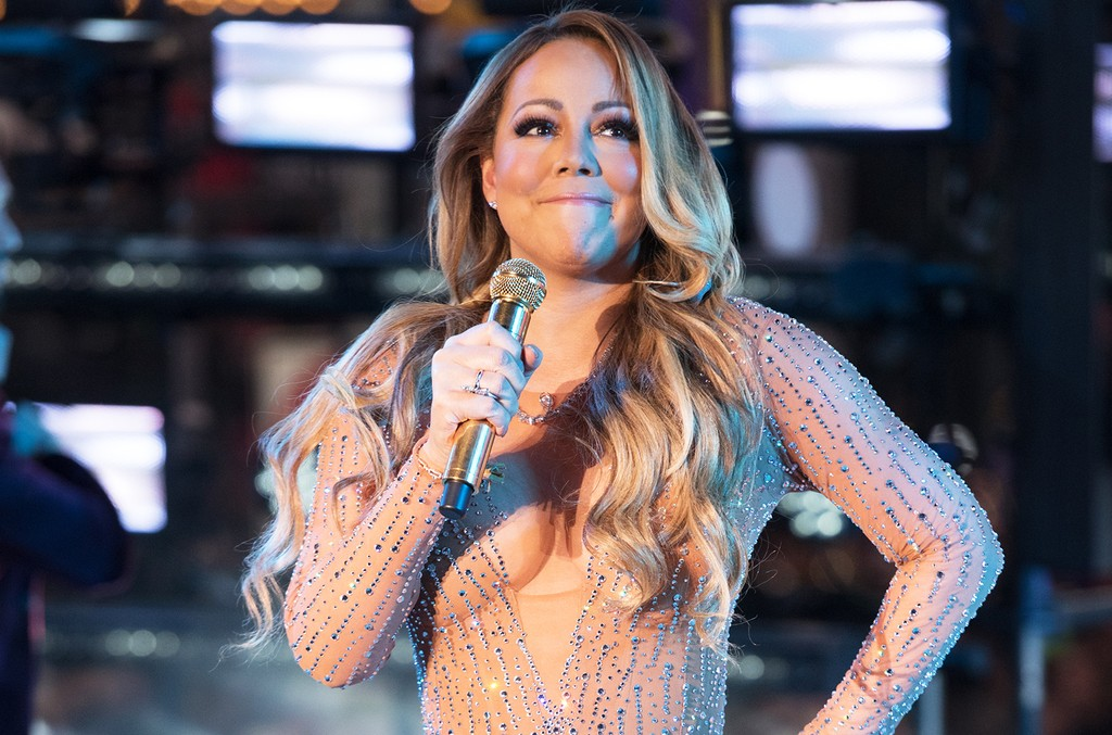 Mariah Carey performs during New Year's Eve 2017