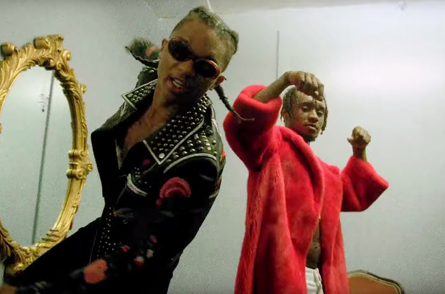 "Rae Sremmurd ft. Gucci Mane, ""Black Beatles"""