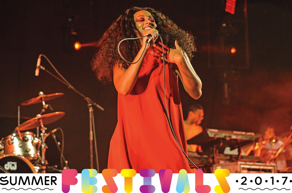 Solange Knowles performs during Day 2 of FYF Fest 2015 at LA Sports Arena & Exposition Park on Aug. 23, 2015 in Los Angeles.