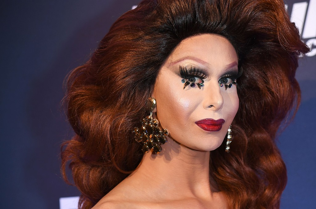 Trinity Taylor attends RuPaul's Drag Race Season 9 finale party on June 23, 2017 in New York.