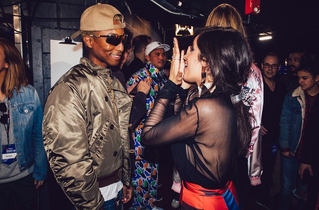 Pharrell Williams and Camila Cabello