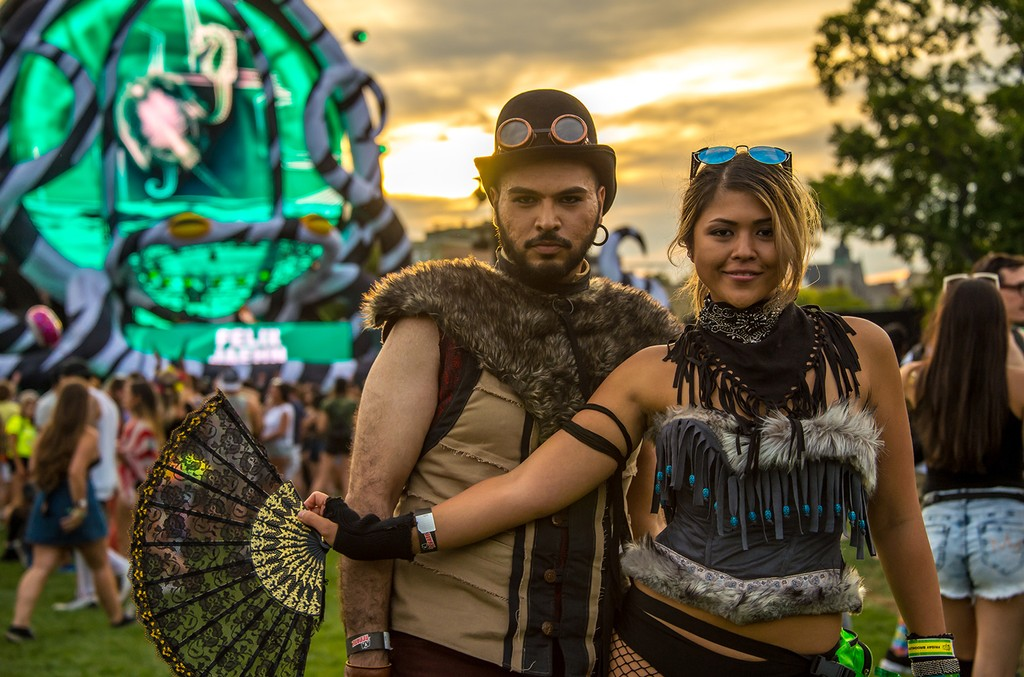 Rave Clothing at Electric Zoo
